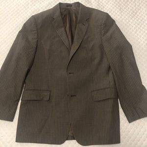 Brown pin stripe Express blazer
